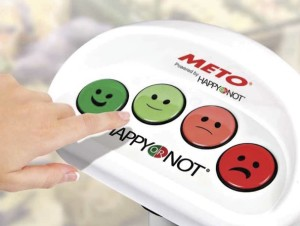 HappyOrNot - Measure customer satisfaction wherever and whenever you wish – monitor and optimise service quality